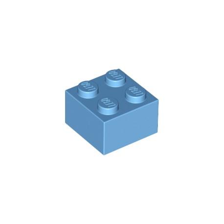 LEGO Peça - Brick 2x2 (Blue) 1984