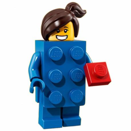 """LEGO MINIFIGURE - 18ª Série \""""Brick Suit Girl\"""""""
