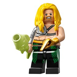 "LEGO MINIFIGURE - Super Heroes - ""Aquaman, Long Yellow Hair"" 2020"