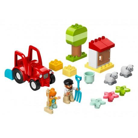 LEGO Duplo - Trator Agrícola e Cuidar dos Animais (27pcs) 2021