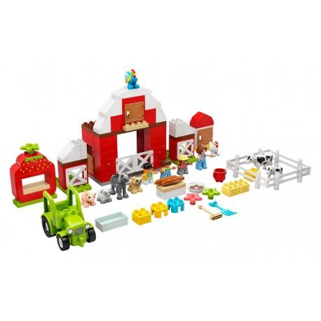 LEGO Duplo - Celeiro, Trator e Cuidar dos Animais da Quinta (97pcs) 2021