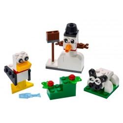 LEGO Classic - Peças Brancas Criativas (60pcs) 2021