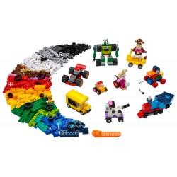 LEGO Classic - Peças e Rodas (653pcs) 2021