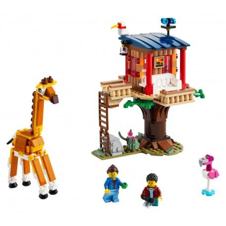 LEGO Creator - Safari Casa na Árvore (397pcs) 2021