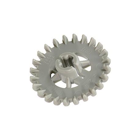 LEGO Peça - Crown gear wheel 90º T 24 - (cinza médio)