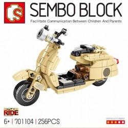 Motocicleta Classic Vespa (256pcs)