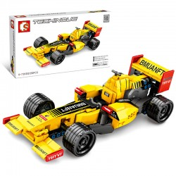 F1 Yellow c/Back/Pull (293pcs)
