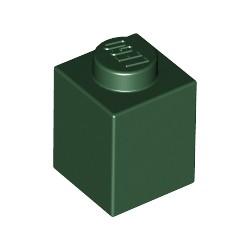 LEGO Peça - Brick 1x1 (Earth Green) 2003