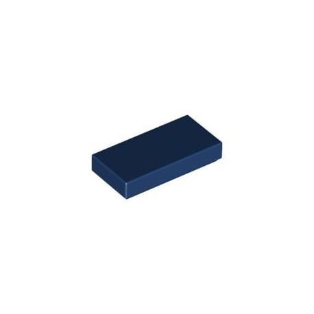 LEGO Peça - Flat Tile 1x2 (Earth Blue) 2003