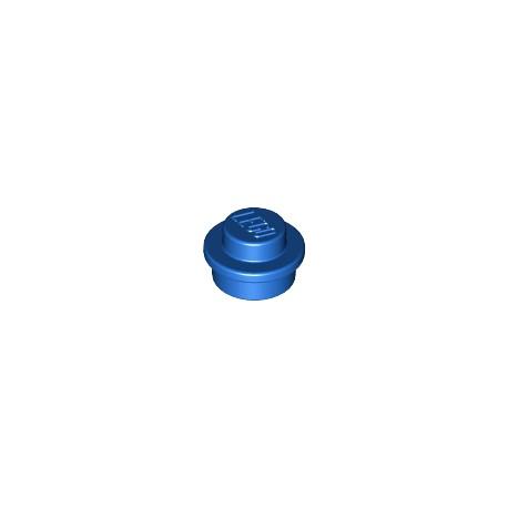 LEGO Peça - Round Plate 1x1 (Bright Blue) 2010