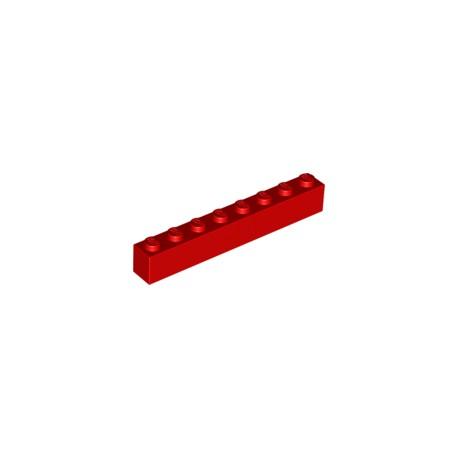 LEGO Peça - Brick 1x8 (Red) 1961