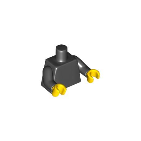 LEGO Peça - Mini figure - shirt - (preta)