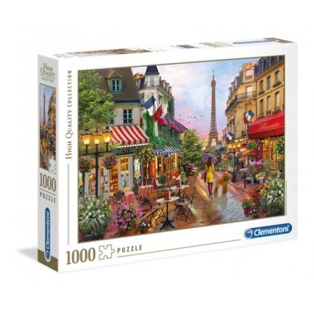 """PUZZLE 1000 pçs - """"Flowers In Paris"""" HQ Collection"""