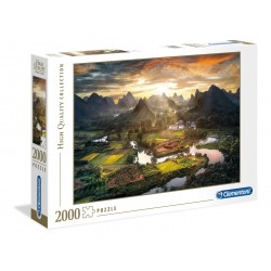 PUZZLE 2000 pçs - View of China HQ Collection