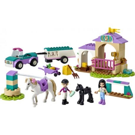 LEGO Friends - Treino de Cavalos e Reboque (148 pcs) 2021