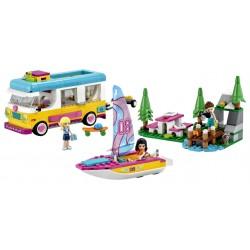 LEGO Friends - Floresta - Autocaravana e Barco à Vela (487 pcs) 2021
