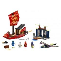 LEGO Ninjago - Voo Final do Barco do Destino (147 pcs) 2021