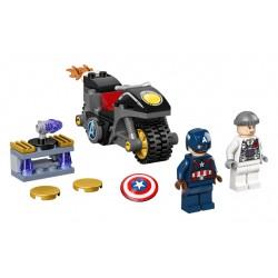 LEGO Super Heroes - Capitão America e Hydra Face-Off
