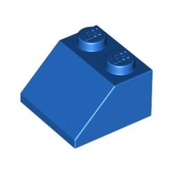 LEGO Peça - Roof Tile 2x2/45º (Bright Blue) 1994