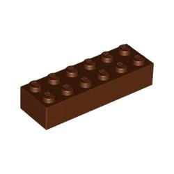 LEGO Peça - Brick 2x6 (Reddish Brown) 2004