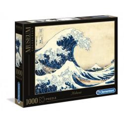 "PUZZLE 1000 pçs- ""La Grande Onda"" Hokusai Museum Collection"