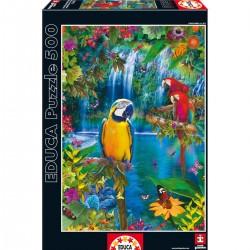 PUZZLE 500 pçs - Paraíso Tropical