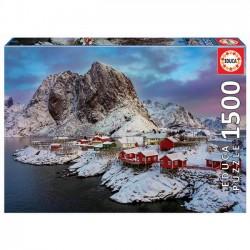 "PUZZLE 1500 pçs - Ilhas Lofoten ""Noruega"""