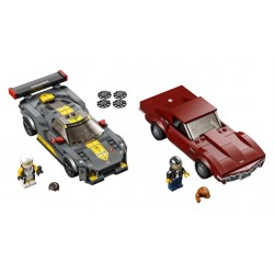 LEGO Speed - Chevrolet Corvette C8.R Race Car e 1968 Chevrolet Corvette (512 pcs) 2021