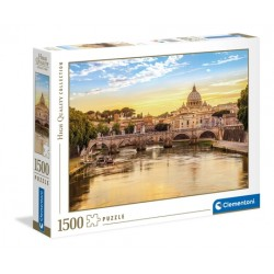 """PUZZLE 1500 Pçs - """"Rome"""" High Quality Collection"""