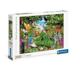 """PUZZLE 2000 pçs - """"Fantastic Forest"""" High Quality Collection"""