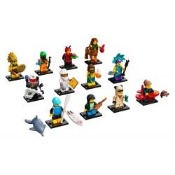 LEGO MINIFIGURE Coleção - 21º Série (12 unidades) 2021