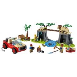 LEGO City - Todo-o-Terreno para Salvamento de Animais Selvagens (157 pcs) 2021