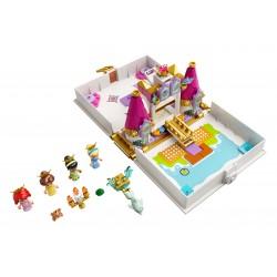 LEGO Disney Princess - O Livro de Histórias e Aventuras de Ariel, Bela, Cinderela e Tiana (130 pcs) 2021
