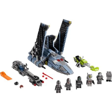 LEGO Star Wars - Vaivém de Ataque The Bad Batch™ (969 pcs) 2021