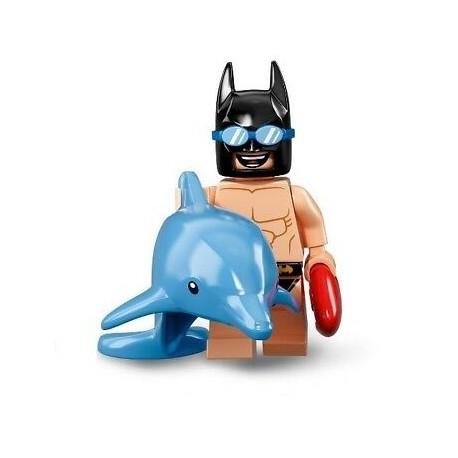 """LEGO Minifigure Batman 2º Série \""""Swimsuit Batman\"""" 2018"""