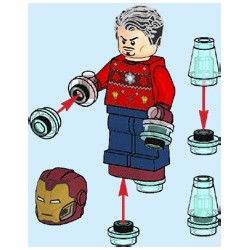 "LEGO Super Heroes - Iron Man + ""energia"" - 2021"