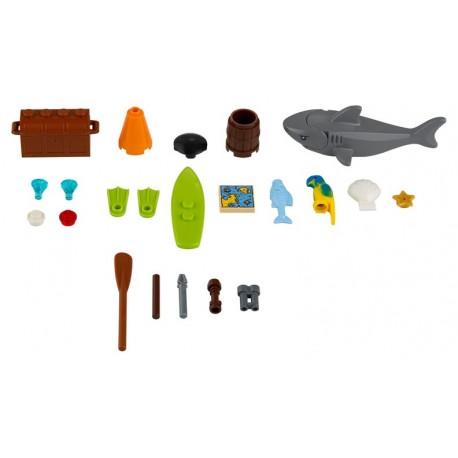 LEGO Exclusivo Xtra City - Sea Accessories (24pcs) 2019