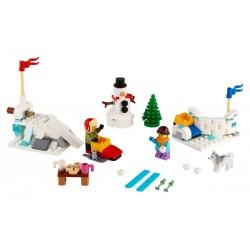 LEGO Exclusivo - Luta de Inverno com Bolas de Neve (149pcs) 2020