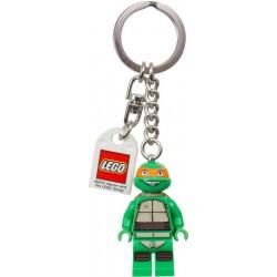 """LEGO EXCLUSIVO Acessório - Porta chave """"Turtles"""" Michelangelo"""