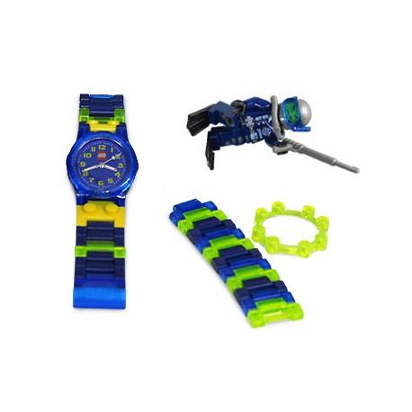 "LEGO EXCLUSIVO Acessórios - Relógio ""Alpha Team Mission"" + minifiguer"