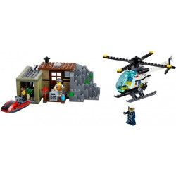 LEGO CITY - Ilha dos bandidos (244 pcs.) 2017